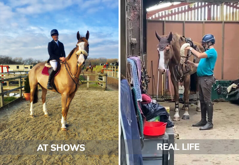 7 ways my horse's lifestyle trumps my own